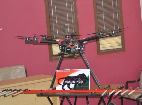 Cloud Seeding Using Drone Technology